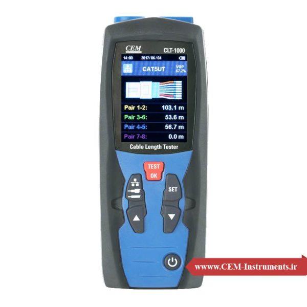 دستگاه سنجش طول کابل CEM CLT-1000