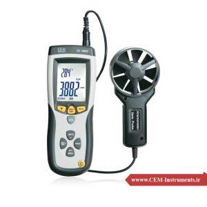 سرعت سنج و دماسنج لیزری باد CEM DT-8894
