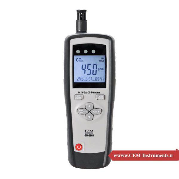 آنالایزر گاز CEM GD-3803